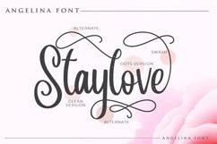Angelina Script- Beautiful Handwritten Product Image 2