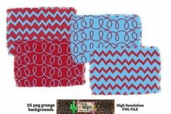 Patriotic July 4th Grunge Backgrounds for Dye Sublimation Product Image 6