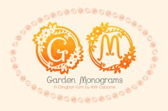 Garden Monograms - Font Product Image 1