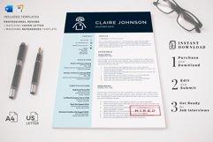 RN Nurse Resume template. Modern Resume format for Nurses Product Image 15