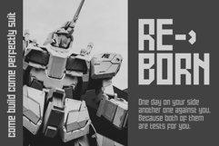 Battlefly Geometric Boxy Typeface Product Image 8