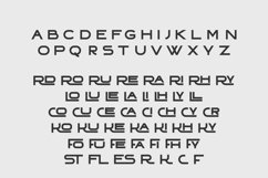 TRADITY   Dual Style Capital Font Product Image 2