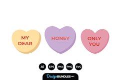 Valentines Candy Heart Product Image 1