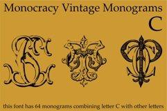 Monocracy Vintage Monograms Pack ABC Product Image 3