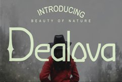 Dealova Regular Font Product Image 1