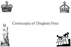 Cornucopia of Dingbats Four Product Image 3