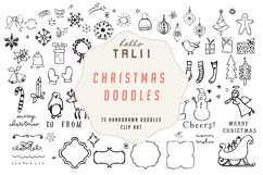 Christmas Doodles Clip Art Product Image 1