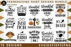 Thanksgiving shirt designs SVG Bundle  SVG DXF EPS PNG MB38 Product Image 1