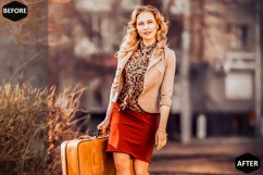 Red Blogger Photoshop Actions And ACR Presets Product Image 6