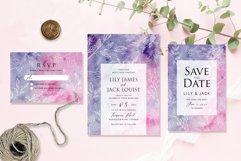 Hand Drawn Floral Wedding Invitation Set Product Image 3