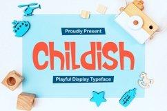 Childish - Playful Display Typeface Product Image 1