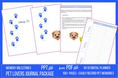 Pet Lovers Journal Package Product Image 1