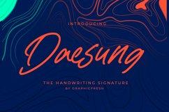 Daesung - The Handwriting Signature Product Image 1