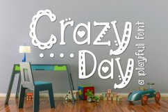 Crazy Day a Playful Font Product Image 1