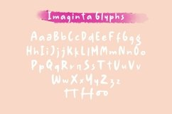 Web Font Imaginta - Handwritten Fonts Product Image 6