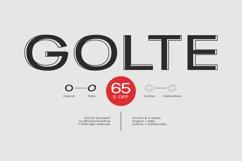 Golte Sans Font - 65 OFF Product Image 1