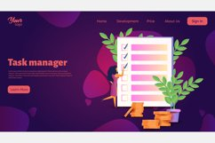 Time management. Landing page headers Product Image 5