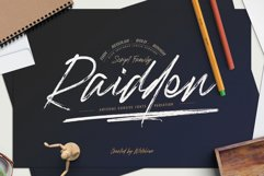 Raidden Script Family Product Image 1