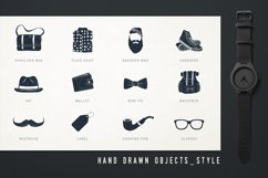 Mr.Hipster. 37 Hand Drawn Objects Product Image 4