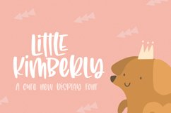 Little Kimberly Font Product Image 1