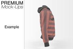 Men's Full-Zip Hoodie Mockup Product Image 2