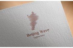 Beijing Wave Logo Product Image 1