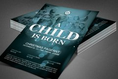 A Child is Born Church Flyer Template Product Image 8