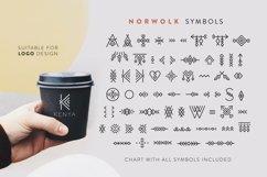 Norwolk - Thin Line Decorative Font Product Image 5