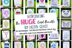 Huge Best Seller Card Bundle! Now also works with Cricut Joy Product Image 1