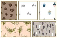 Woods Rhapsody Seamless Patterns Product Image 3