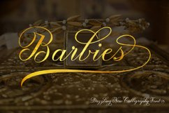 Barbies Script Product Image 1