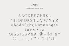 Carlo Elegant Serif Font Product Image 3