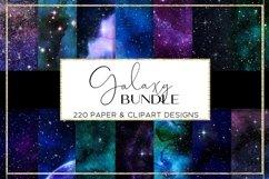 Galaxy paper BUNDLE digital paper pattern Product Image 6