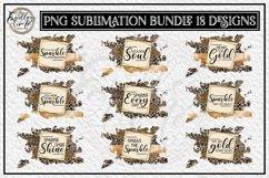 Motivational Quote Sublimation Bundle | 18 Leopard Designs Product Image 1