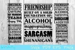 Friendship Svg Motherhood Svg Teaching svg Funny Bundle SVG Product Image 1