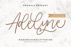 Adelyne - Modern Handlettering Product Image 1