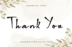 Brownies - Handwritten Display Font Product Image 7