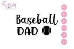 Baseball Dad - Svg Cut Files Product Image 1