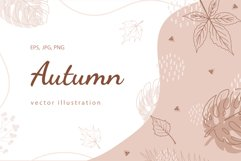 AUTUMN ELEMENTS vector bundle Product Image 1