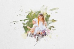 30 Watercolor Portrait Mask Overlays Product Image 3