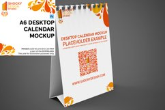 Desktop Calendar A6 Mockup Product Image 1