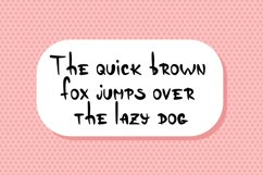 Dandelly - Playful Comic Font Product Image 6