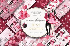Be My Valentine Patterns Product Image 1