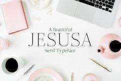 Jesusa Serif Typeface Product Image 1