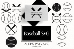 Baseball SVG Product Image 1