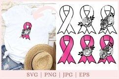Awareness Ribbon SVG, Breast Cancer svg, ribbon clipart Product Image 1