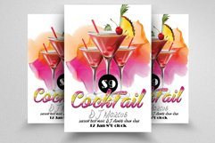 10 Summer Cocktail Party Flyers Bundle Product Image 2