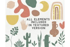 150 modern abstract design elements - floral illustrations Product Image 3