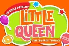 Little Queen Fun Children Typeface Product Image 1