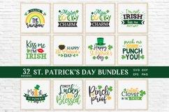 St Patrick's Day svg bundle eps png dxf Product Image 1